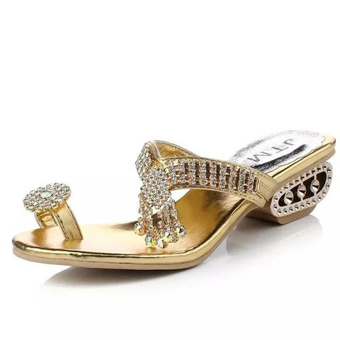 Beautiful Rhinestone Sandals