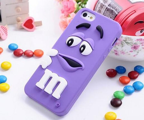 M&M's Chocolate Soft Silicone Case