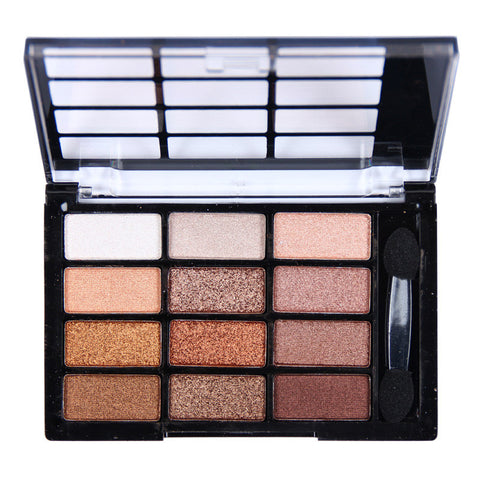 12 Colors Shimmer Eye Shadow Palette
