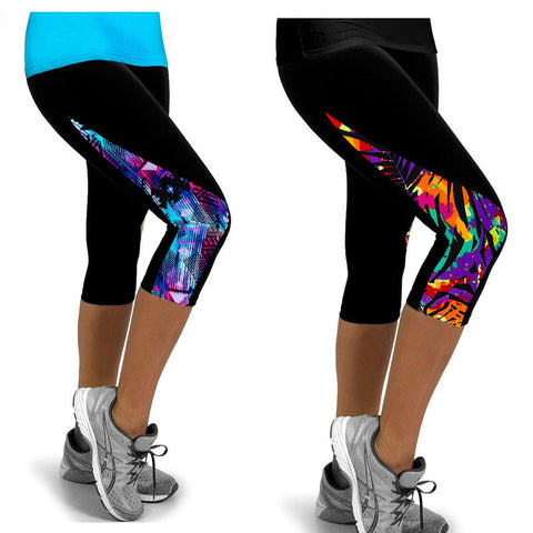 Fitness Printed Leggings