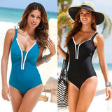 Plus Size Sexy One Piece Swimsuit