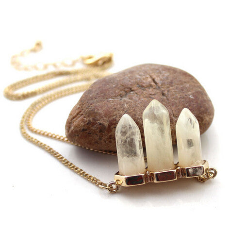 Acrylic Arrow Necklace