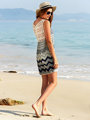 Loose Straight Beach Dress