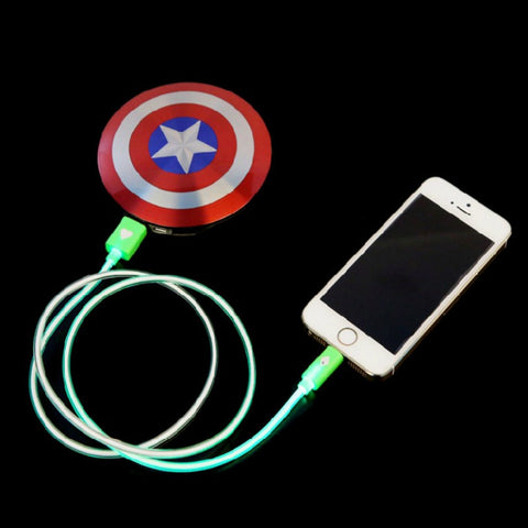 Captain America 7000mAh Power Bank