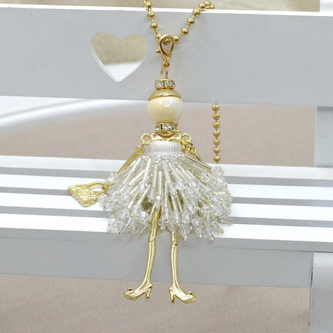 Doll Charms Necklace