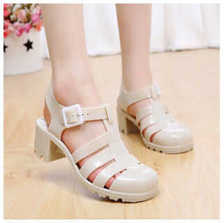 Roman Style Jelly Shoes