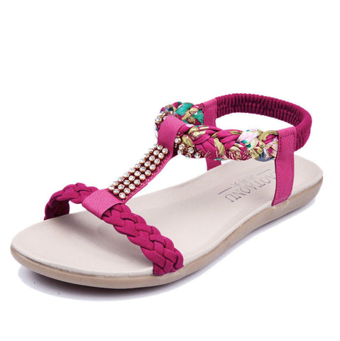 Ankle-Strap Summer Sandals