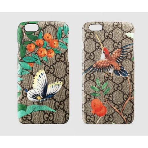 Leather Blooms iPhone Case