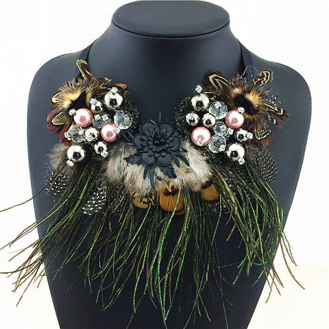 Multi-Ethnic Elegant Fashion Necklace