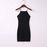 Rubber Bodycon Summer Dress