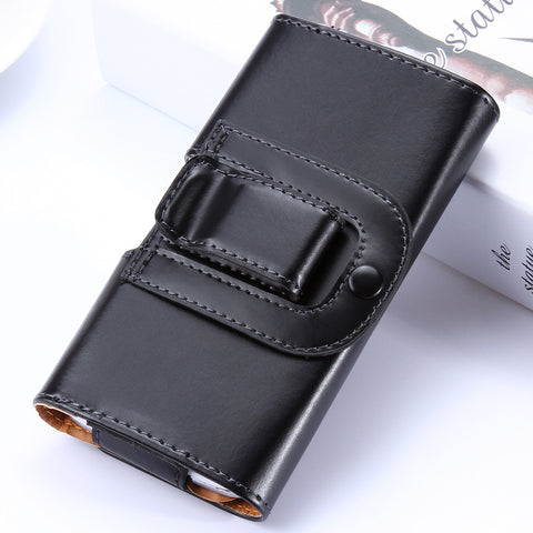 Leather Case With Clip For Samsung