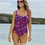 Plus Size Sexy Black Hollow Out Swimwear