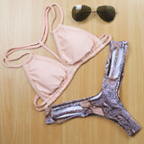 Fringe Wire Free Swimwear