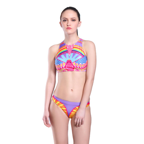 Brazilian High Neck Swimsuit