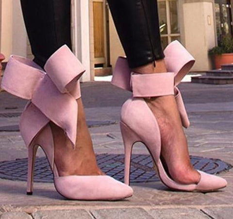 Big Bow Tie Pumps