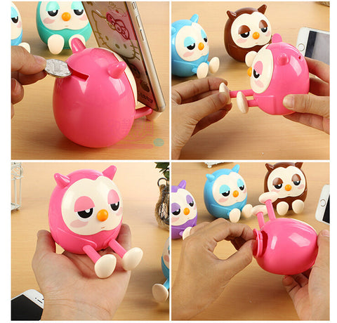 Cute Owl Phone Stand