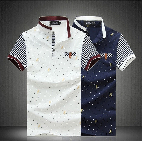 Cotton Printed Polo Shirt