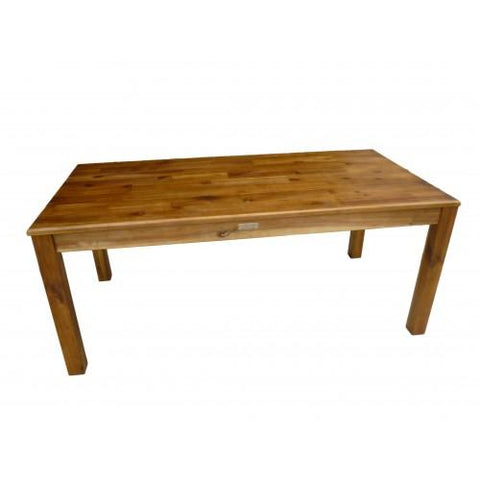 Qtoys Rectangular Acacia Table 120