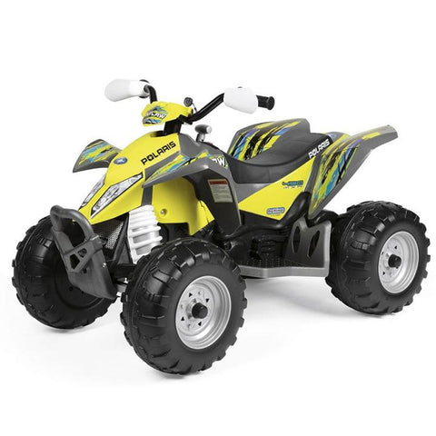 Peg-Perego Polaris Outlaw Citrus 12v Ride On