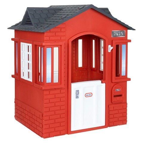 Little Tikes Cape Cottage - Red - Swing and Play