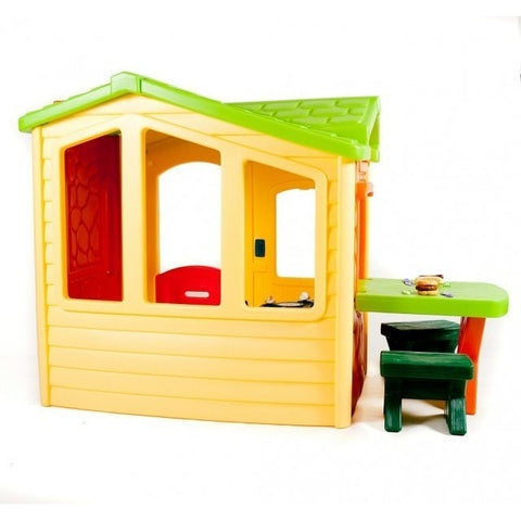 Lovely ... Little Tikes Picnic On The Patio Playhouse   Natural   Swing And Play    2 ...