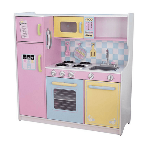 KidKraft Large Pastel Kids Play Kitchen