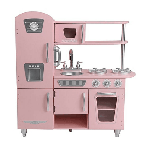KidKraft Pink Vintage Kids Play Kitchen