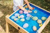 Plum Build & Splash Wooden Sand & Water Table