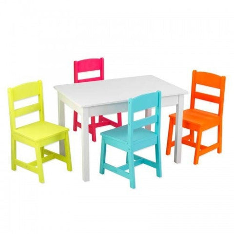 KidKraft Highlighter Table & 4-Chair Set
