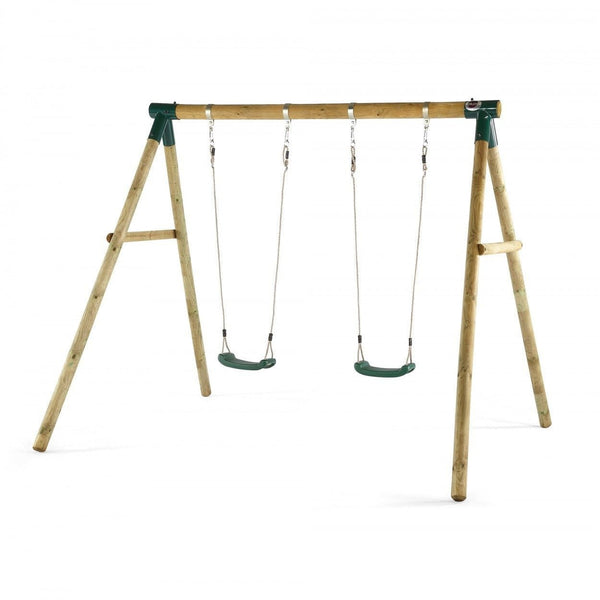 Plum Marmoset Wooden Swing Set - PRE-ORDER