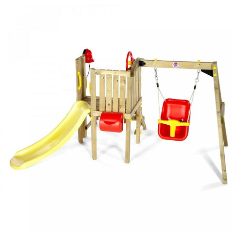 Plum Toddler Tower - Swing and Play - 1