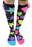 MADMIA Glitter Socks with Bows