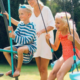 Plum Premium Metal Double Swing & Glider With Water Mist