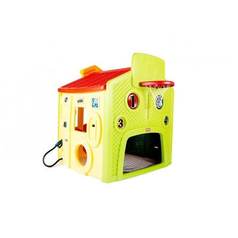 Little Tikes Tikes Town Playhouse - Evergreen - Swing and Play - 1