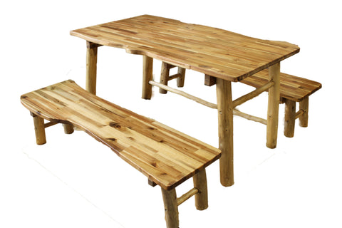 Qtoys Tree Top Outdoor Table & Bench Set - Large