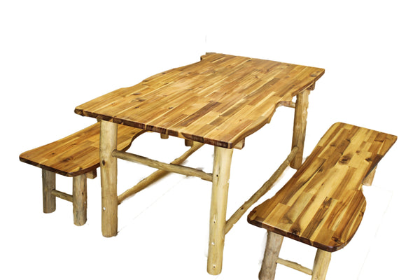 Qtoys Tree Top Outdoor Table & Bench Set - Small