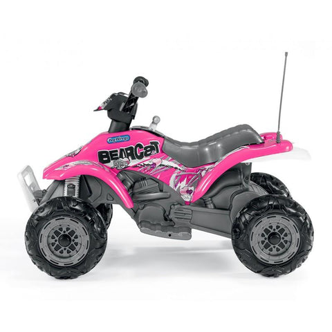 Peg-Perego Corral Bearcat 6v Ride On - Pink