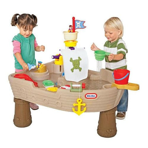 Little Tikes Anchors Away Pirate Ship - Swing and Play - 1