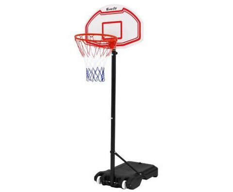 1.2M Adjustable Portable Basketball Hoop