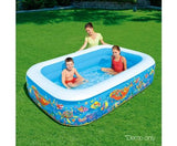 Under The Sea Inflatable Pool