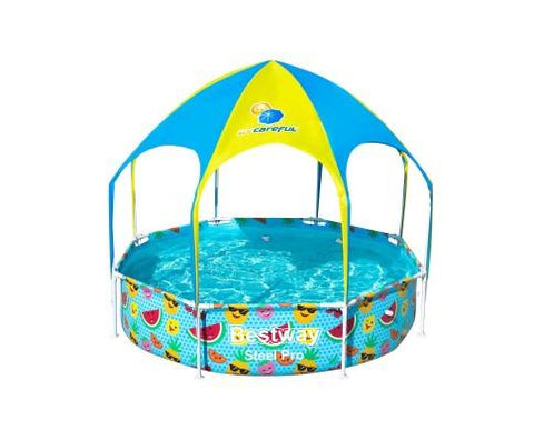 Bestway Swimming Pool with Mist Shade