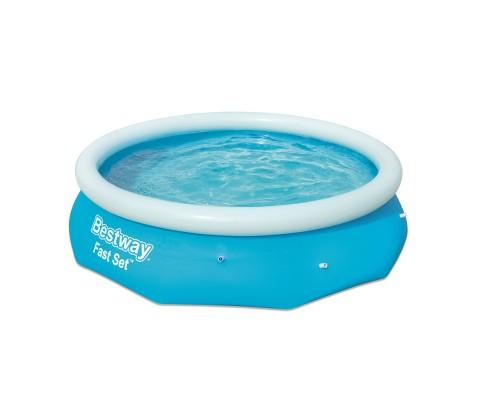 Bestway Fast Set Family Swimming Pool With Filter Pump - 305x76cm