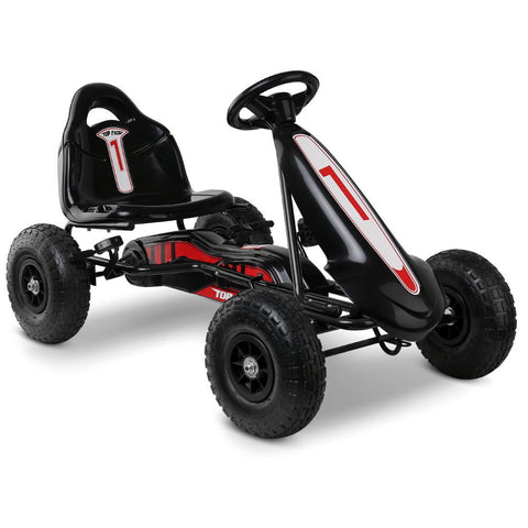 Pedal Powered Go Kart Ride On - Black