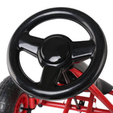 Pedal Powered Go Kart Ride On - Red