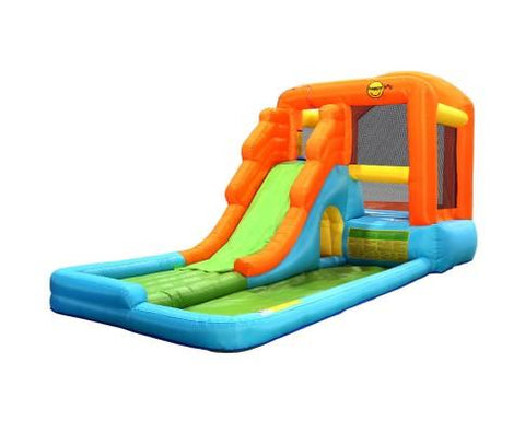 Happy Hop Inflatable Water Slide Water Park Jumping Castle