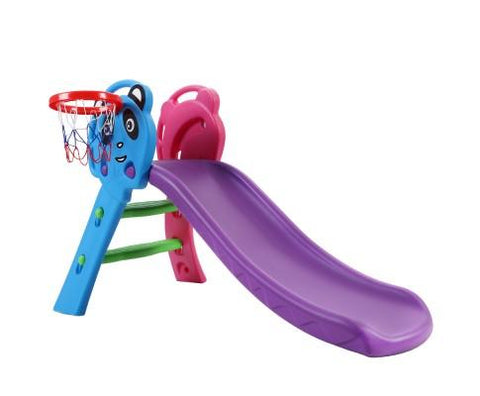 First Slide With Basket Ball Hoop - Panda