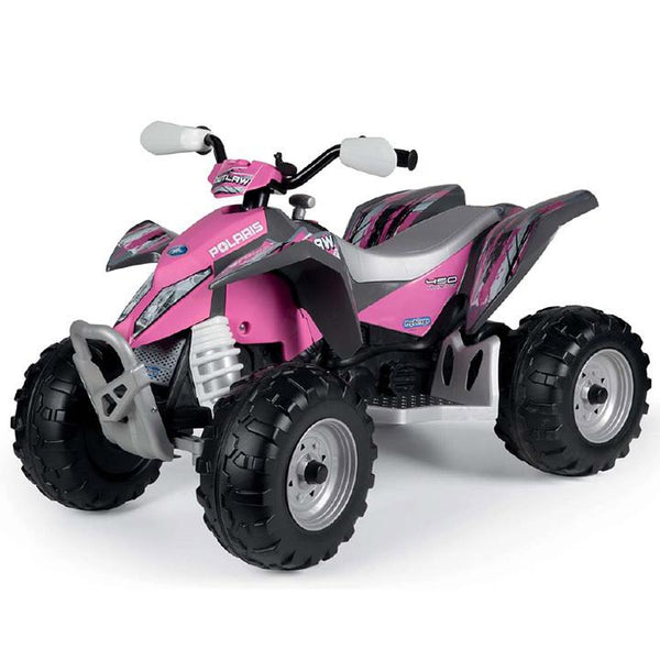 Peg-Perego Polaris Outlaw Pink 12v Ride On