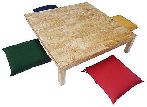 Qtoys Low Table & 4 Cushions