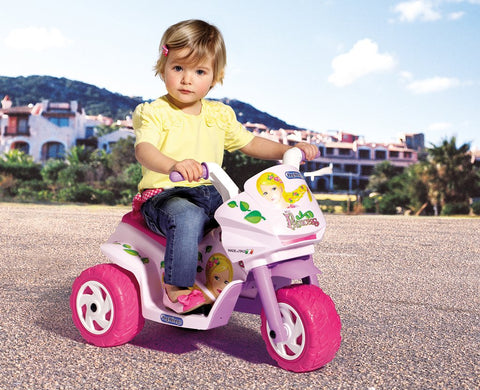 peg-perego Mini Princess 6v Motorbike Ride On