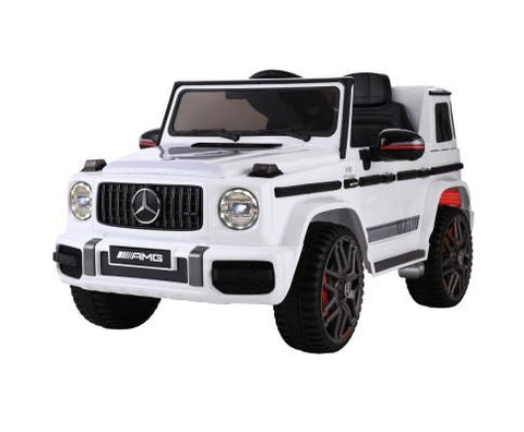Mercedes Benz AMG G63 Electric 12V Ride On Car - White